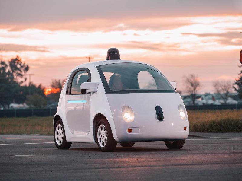 Bild zu Google-Auto