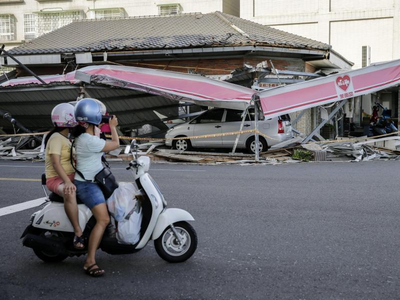 Bild zu Schäden in Taiwan