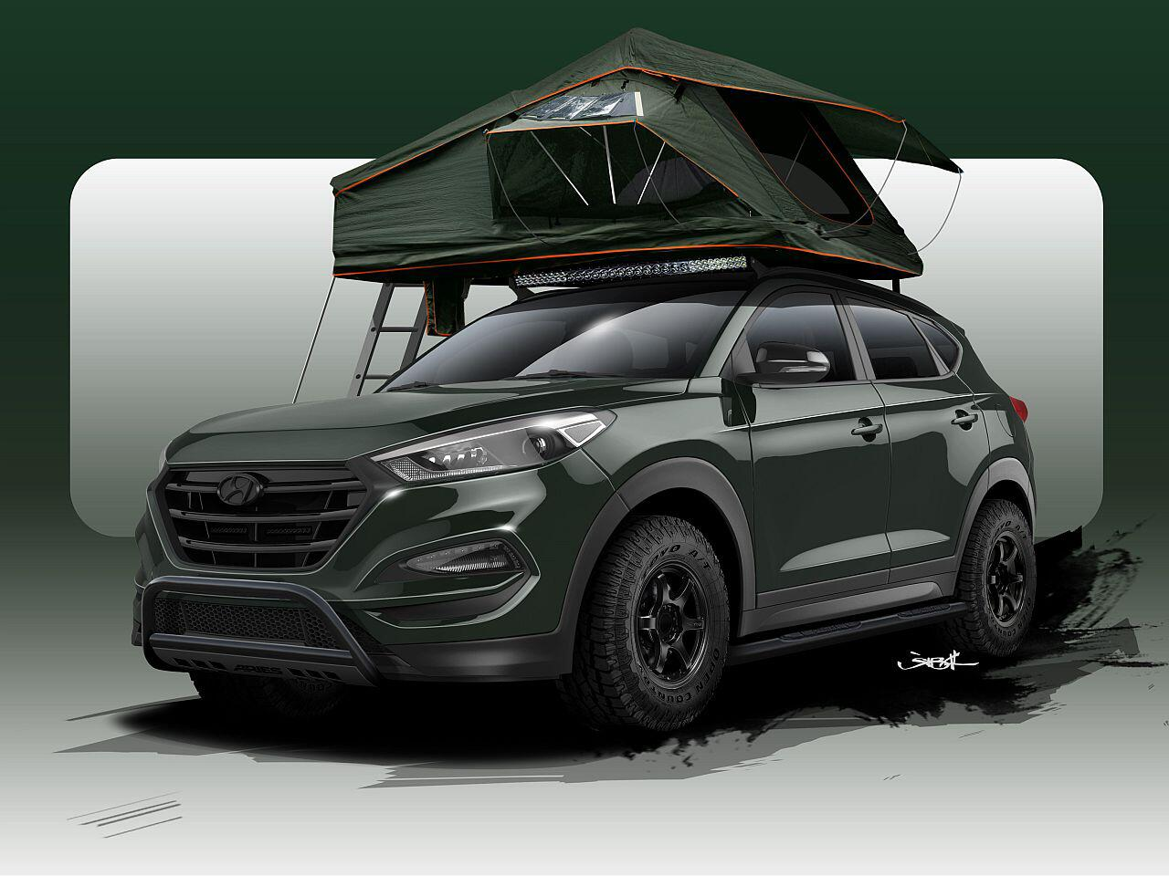 Bild zu Hyundai Tucson von Tuner John Pangilinan