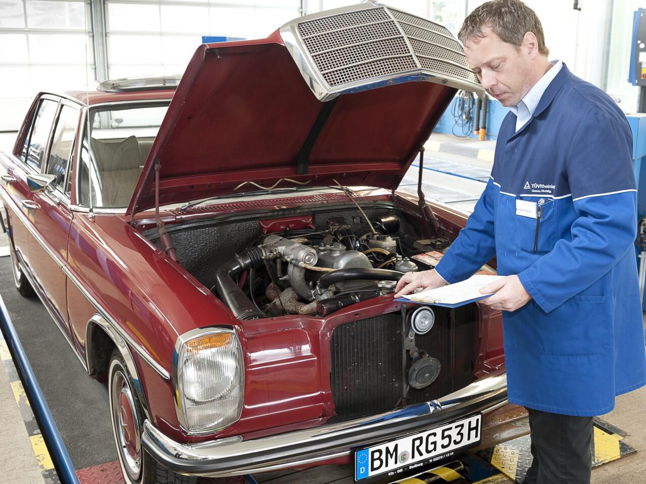 Bild zu Eine Restaurierungsversicherung mindert die Risiken der Fahrzeugaufbereitung