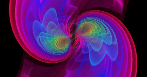 Simulation der ersten von LIGO gemessenen Schwarzen Löcher