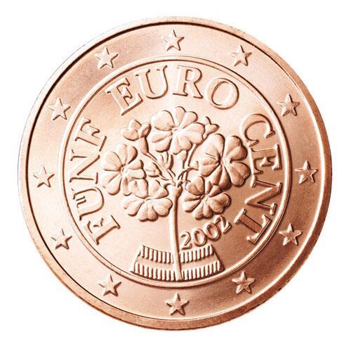 Die Motive Der 5 Cent Münzen Webde