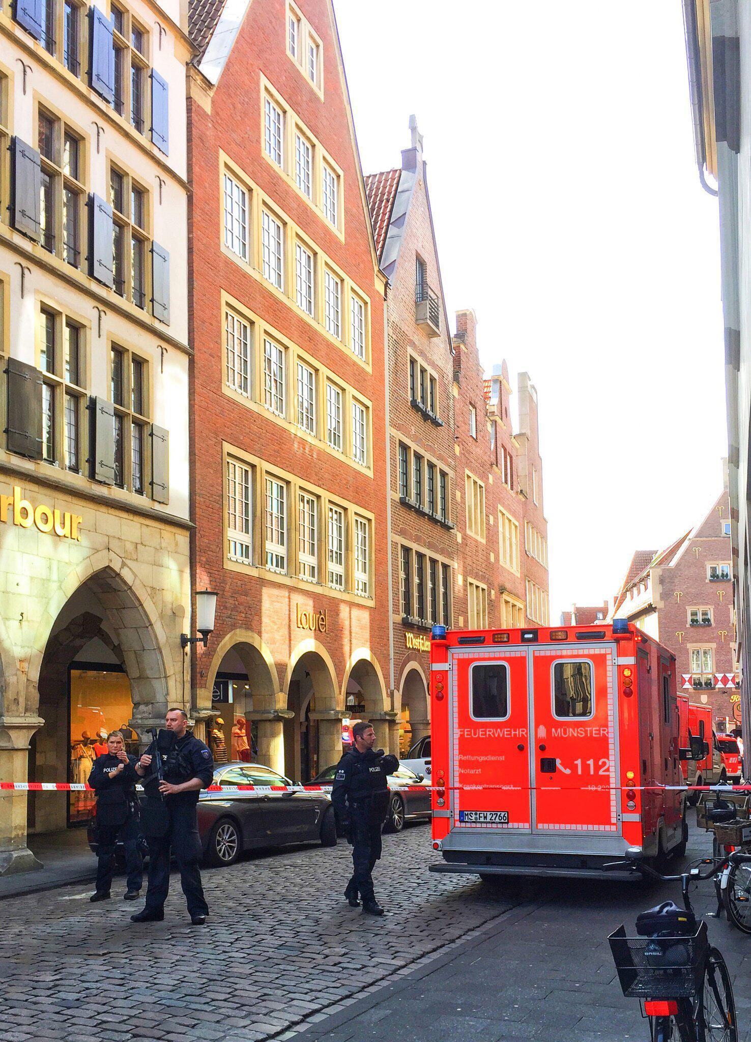 Bild zu Incident in Muenster