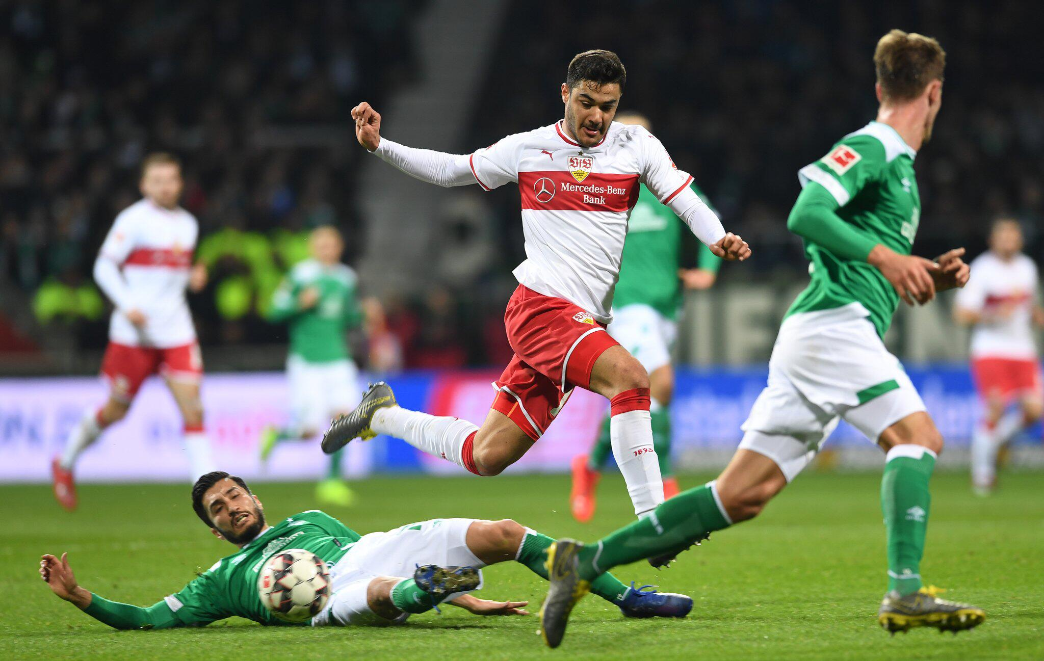 Freitagsspiel: VfB Stuttgart erkämpft Punkt bei Werder Bremen