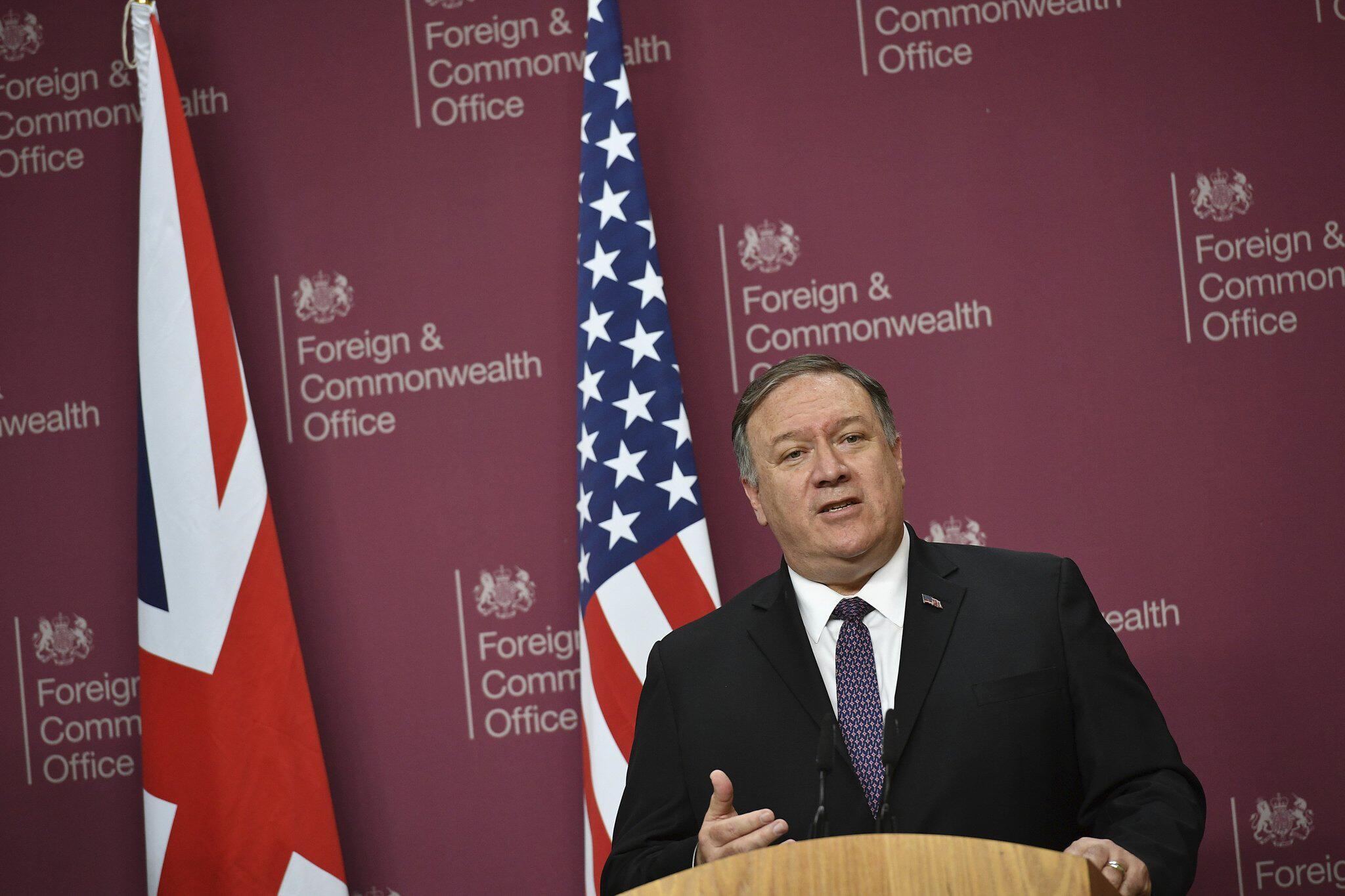Streit um Atomprogramm:Pompeo: Wollen keinen Krieg mit dem Iran