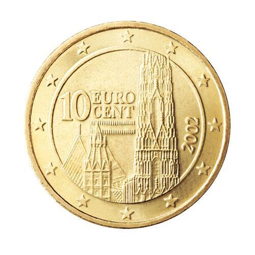 10 Cent Münze österreich