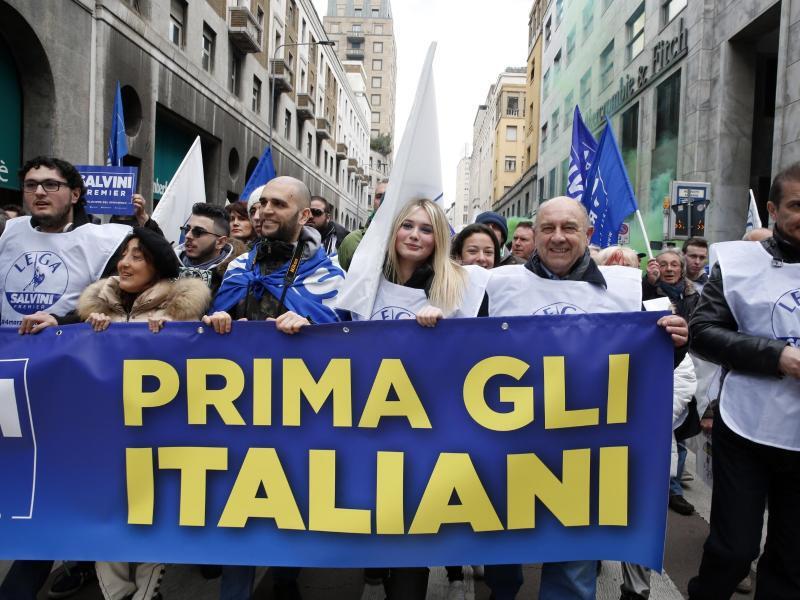 Bild zu Demo vor der Wahl