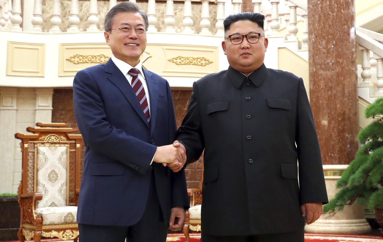 Bild zu Korea-Gipfel in Pjöngjang