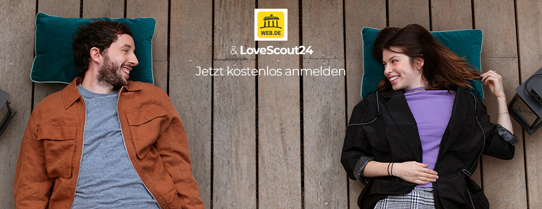 Bild zu WEB.DE & Lovescout Header
