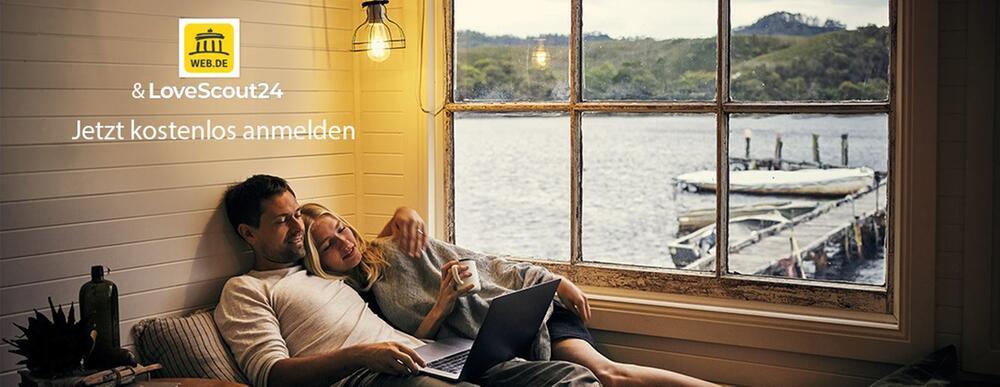 WEB.DE & Lovescout Header
