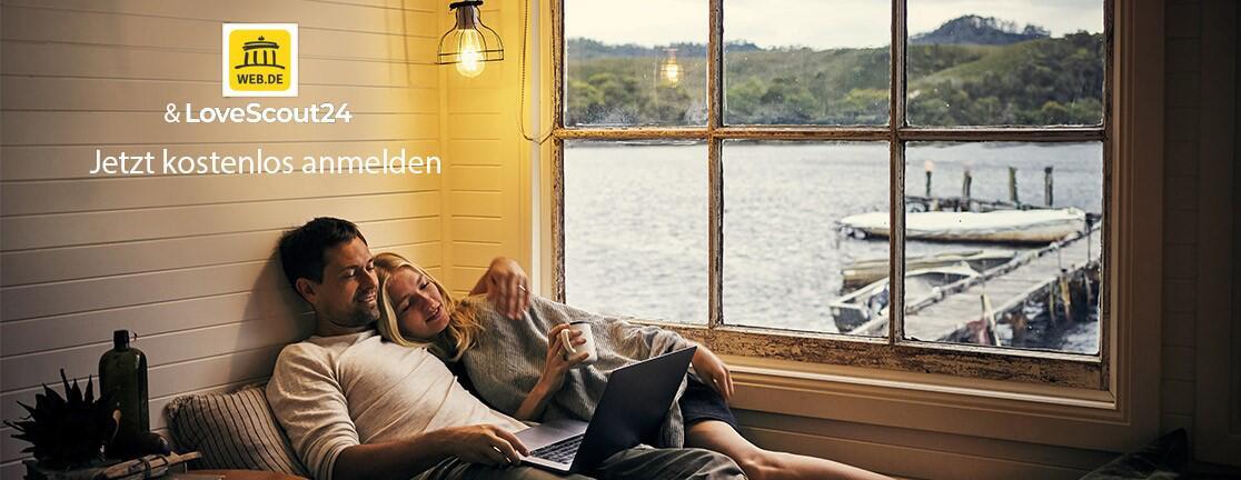 Bild zu WEB.DE & Lovescout Header