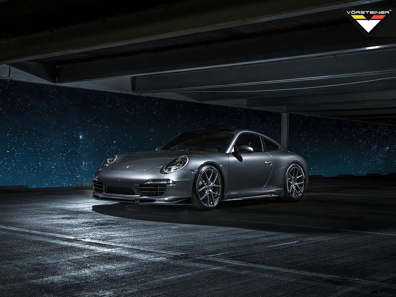 Bild zu Ein aufgehübschter Porsche ist das jüngste Werk der Designschmiede Vorsteiner