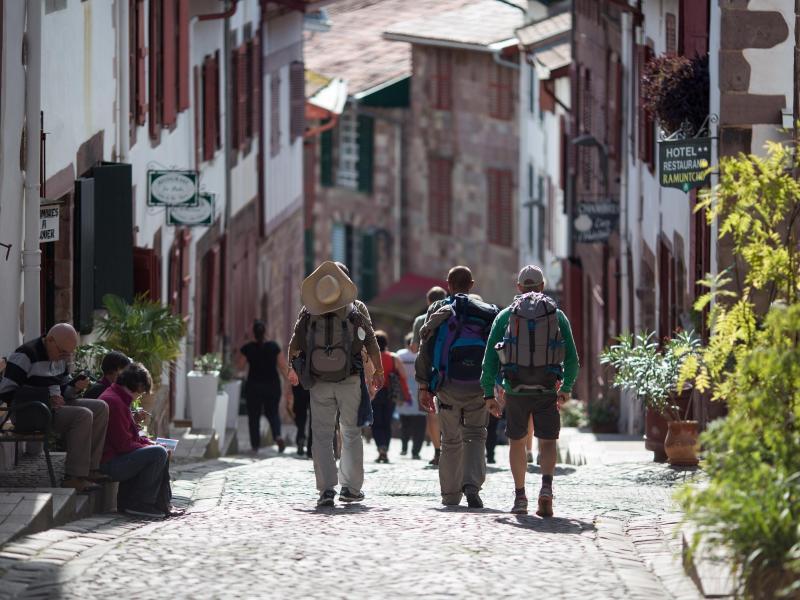 Bild zu Pilgerreise durch Saint Jean Pied