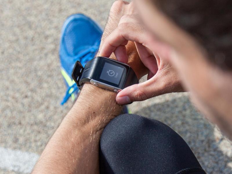 Bild zu Distanzmessung mit der Smartwatch