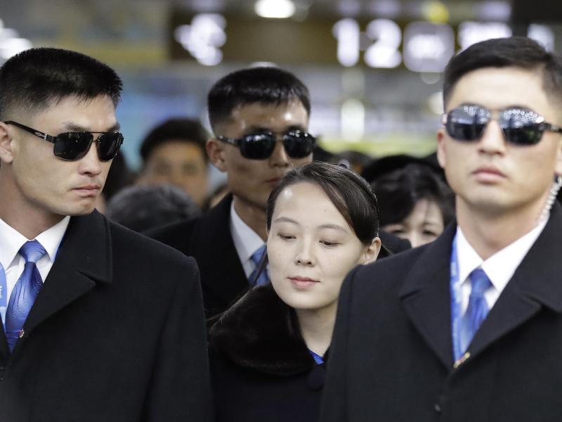 Bild zu Kim Yo Jong