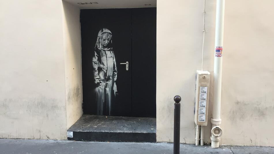Graffiti von Banksy in Paris
