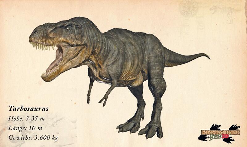 Bild zu Dinosaurier: Tarbosaurus