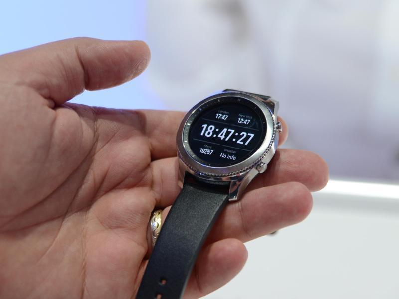 Bild zu Samsungs anpassungsfähige Smartwatch