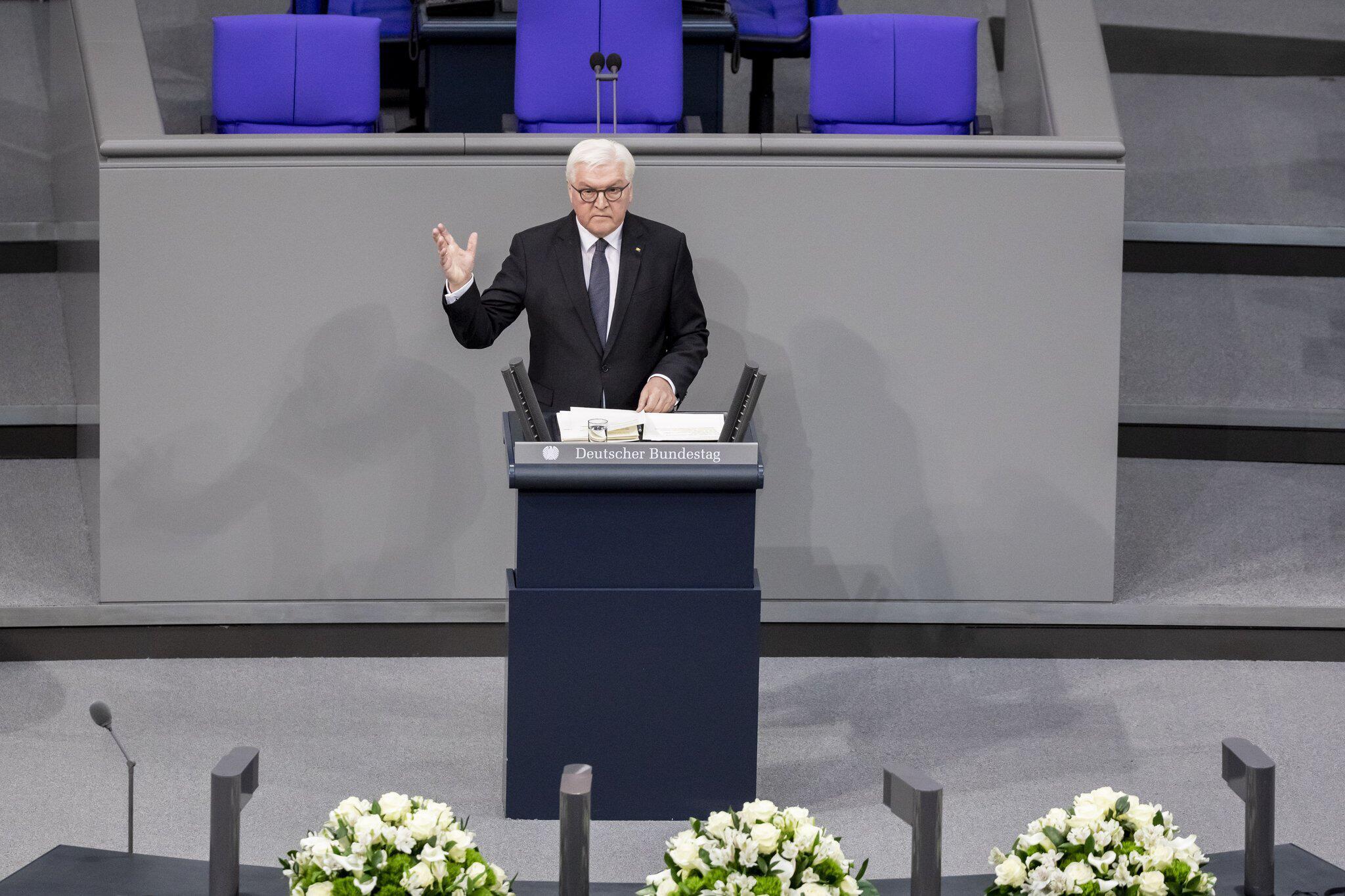 Bild zu Bundestag gedenkt der Opfer des Nationalsozialismus