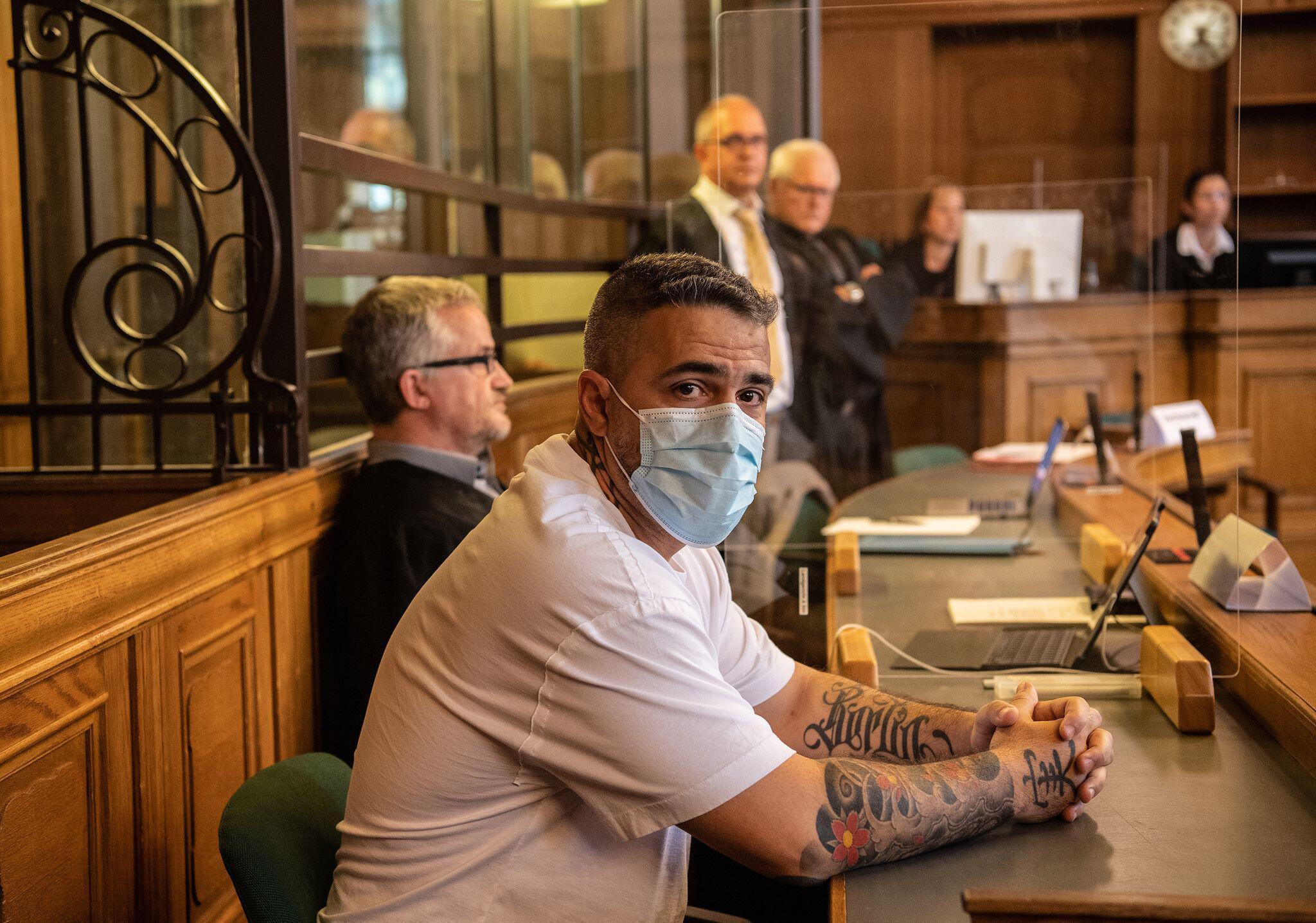 Bild zu Prozess gegen Berliner Clanchef - Zeuge Bushido weiter befragt
