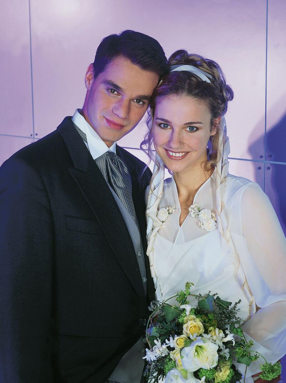 Bild zu Hochzeit zwischen Flo und Andy zum GZSZ-Jubiläum