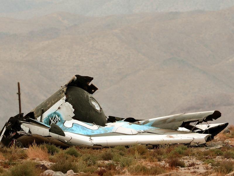 Bild zu Spaceship Two-Crash
