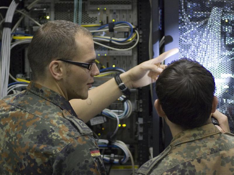 Bild zu Beim Luftwaffenführungskommando