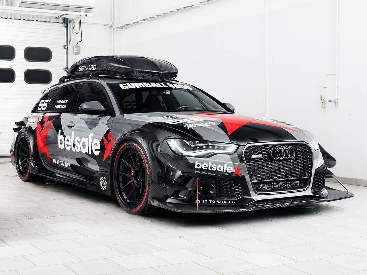 Bild zu Audi RS6 von Jon Olsson