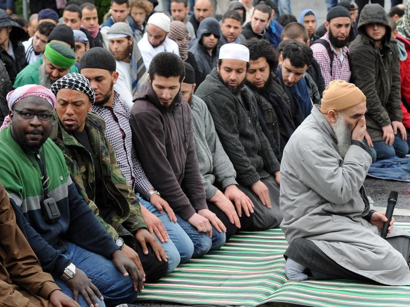 Bild zu Salafisten in Deutschland