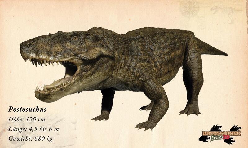 Bild zu Dinosaurier: Postosuchus