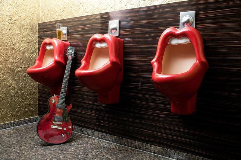Bild zu Rock'n'Roll-Toilette