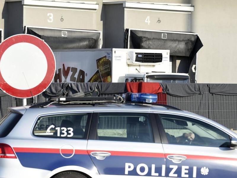Bild zu Lastwagen in Nickelsdorf