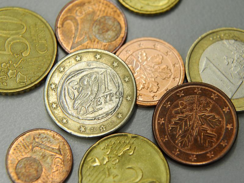Bild zu Verschiedene Geldmünzen