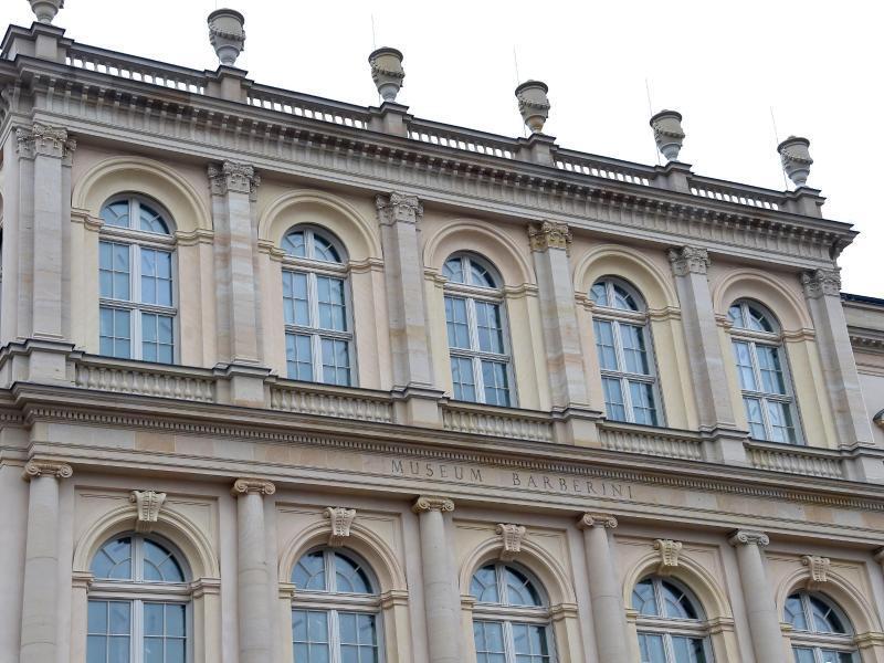 Bild zu Fassade Museum Barberini