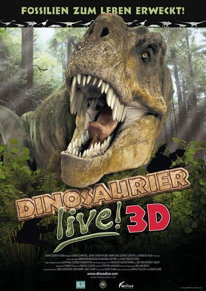 Bild zu Dinosaurier live! 3D