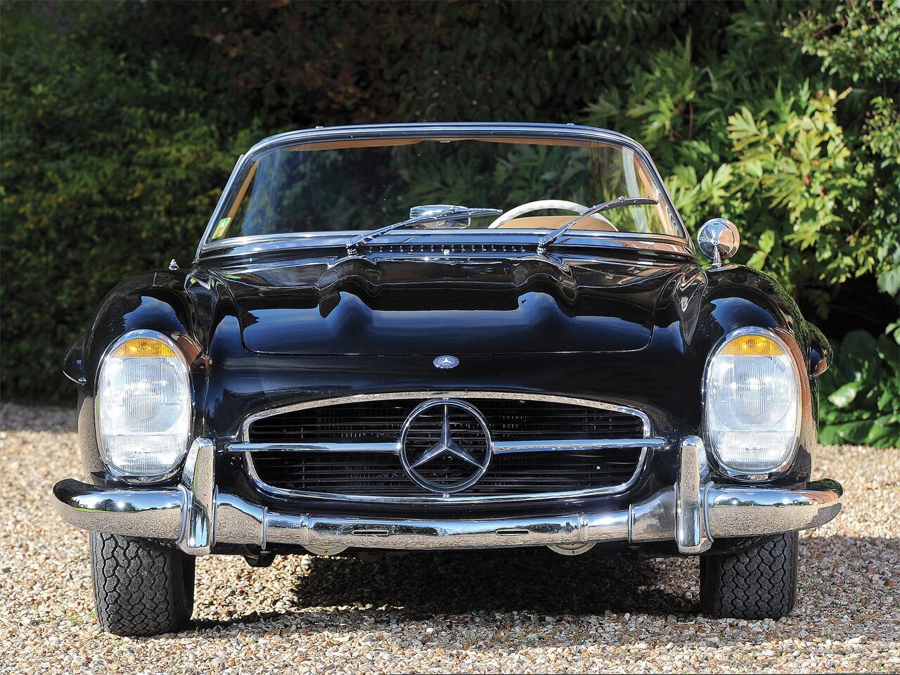 Bild zu 1957 Mercedes-Benz 300 SL Roadster