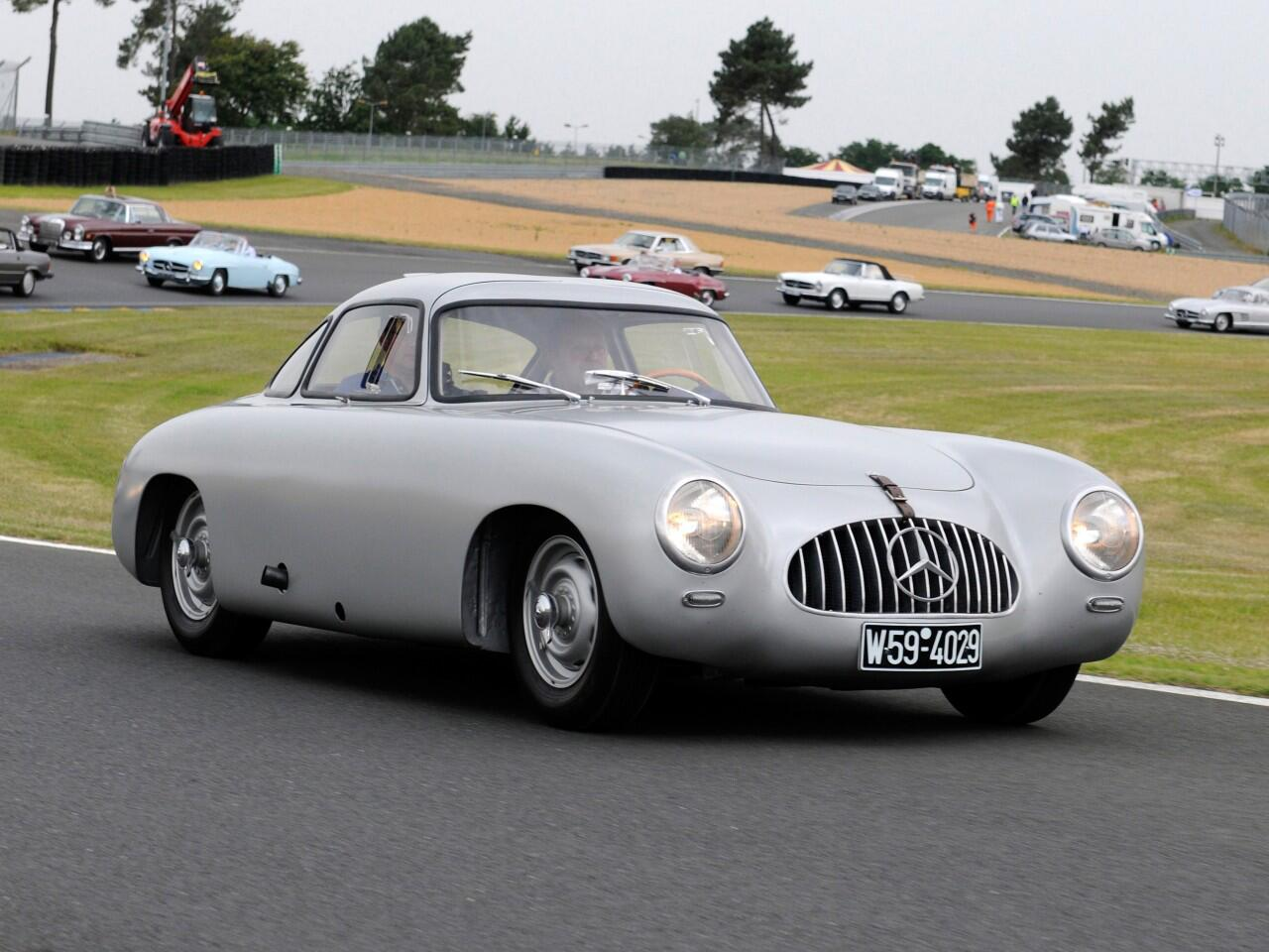 Bild zu Mercedes-Benz 300 SL (W 194) von 1952