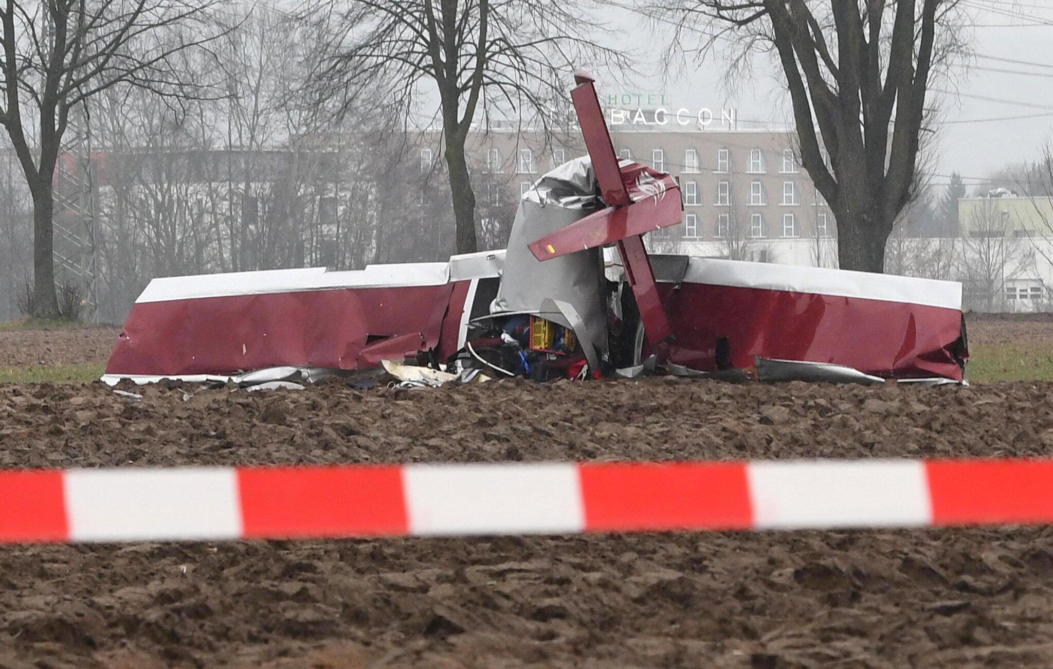 Bild zu Ultraleichtflugzeug abgestürzt