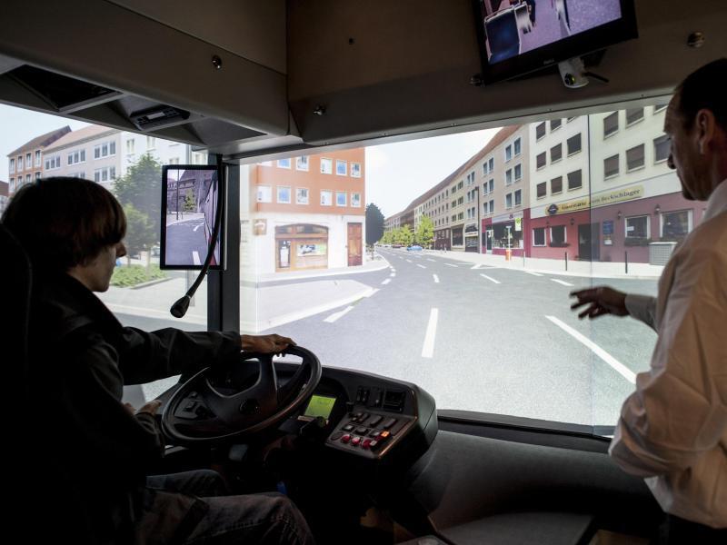 Bild zu Simulator für einen Linienbus
