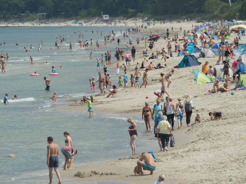 Bild zu Strand auf Usedom