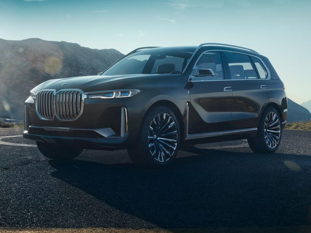 Bild zu BMW Concept X7 iPerformance: So futuristisch ist das Oberklasse-SUV aus München