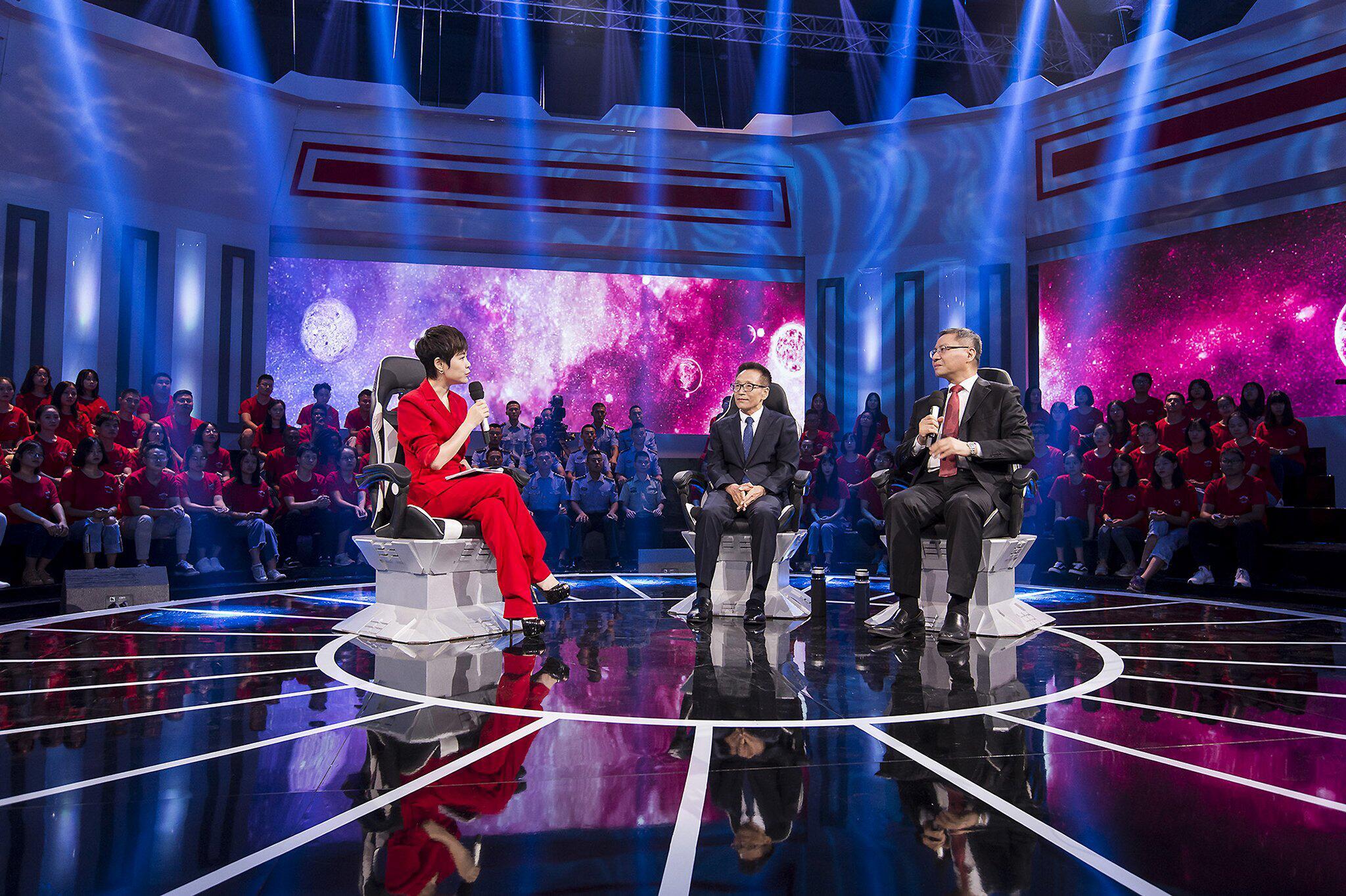 Bild zu TV-Show über Chinas Präsidenten