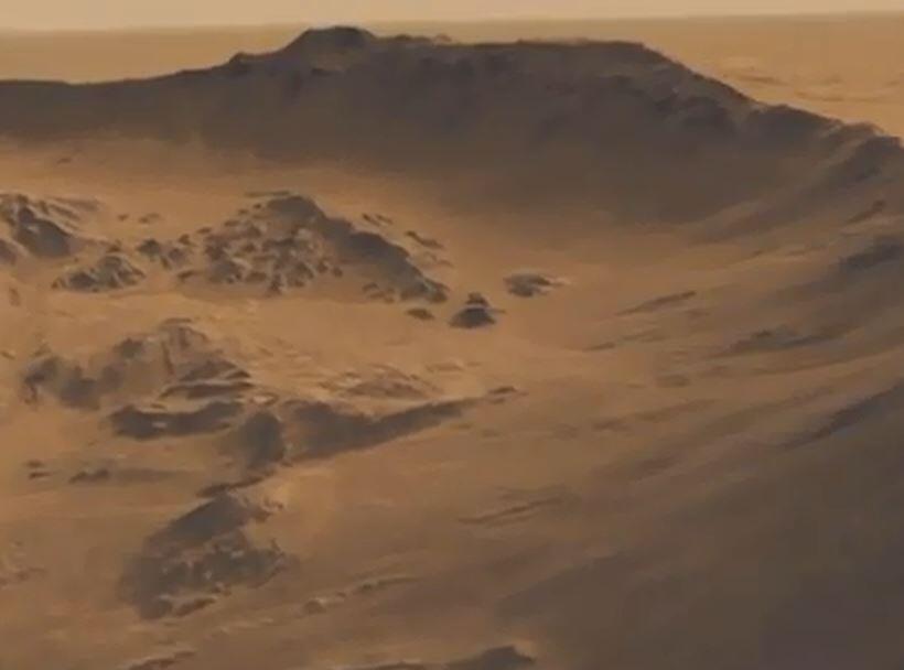 Bild zu Mars, Wasser
