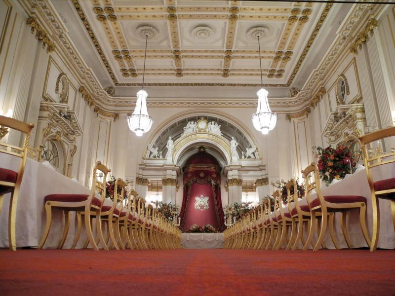 Bild zu Festsaal des Buckingham-Palastes
