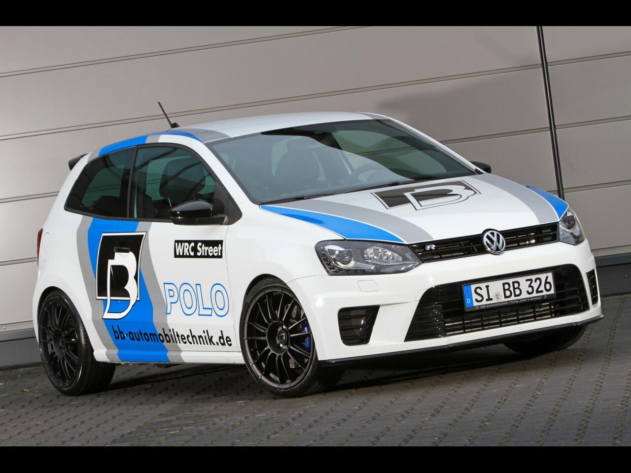 Bild zu Wolf im Schafspelz: VW Polo R WRC Street von B