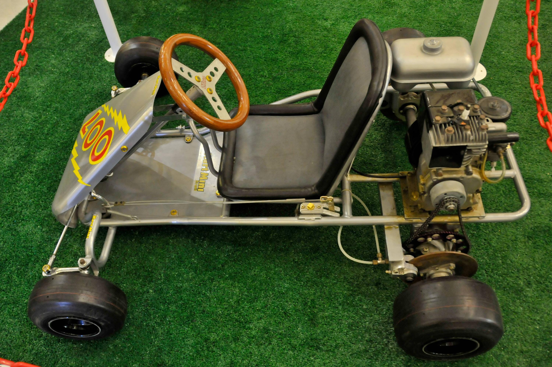 Bild zu Ayrton Senna, GoKart, Go-Kart