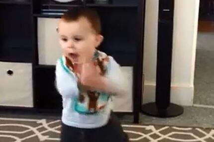 Baby hat den Funk.