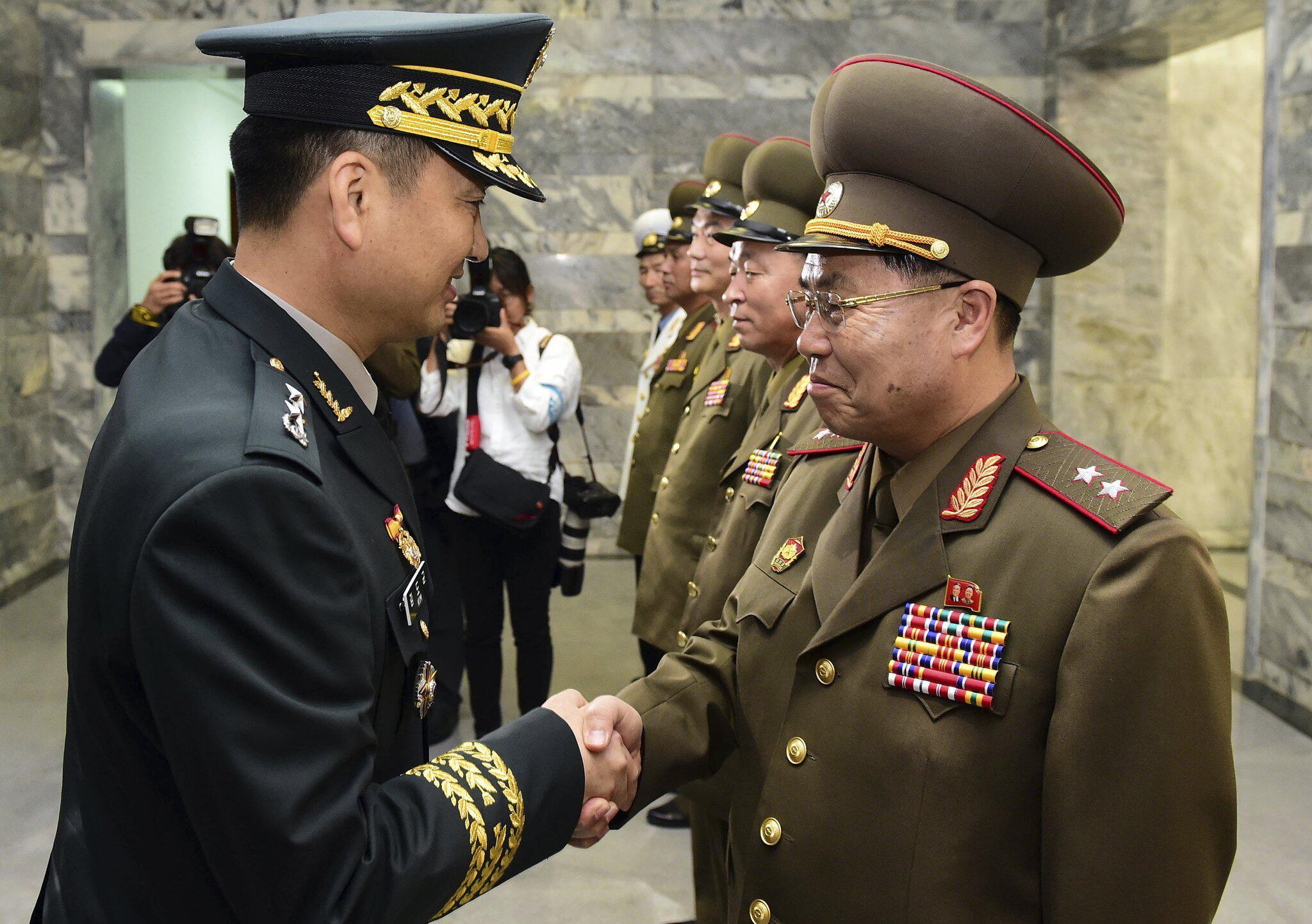 Bild zu Treffen Nord- und Südkoreanischer Offiziere