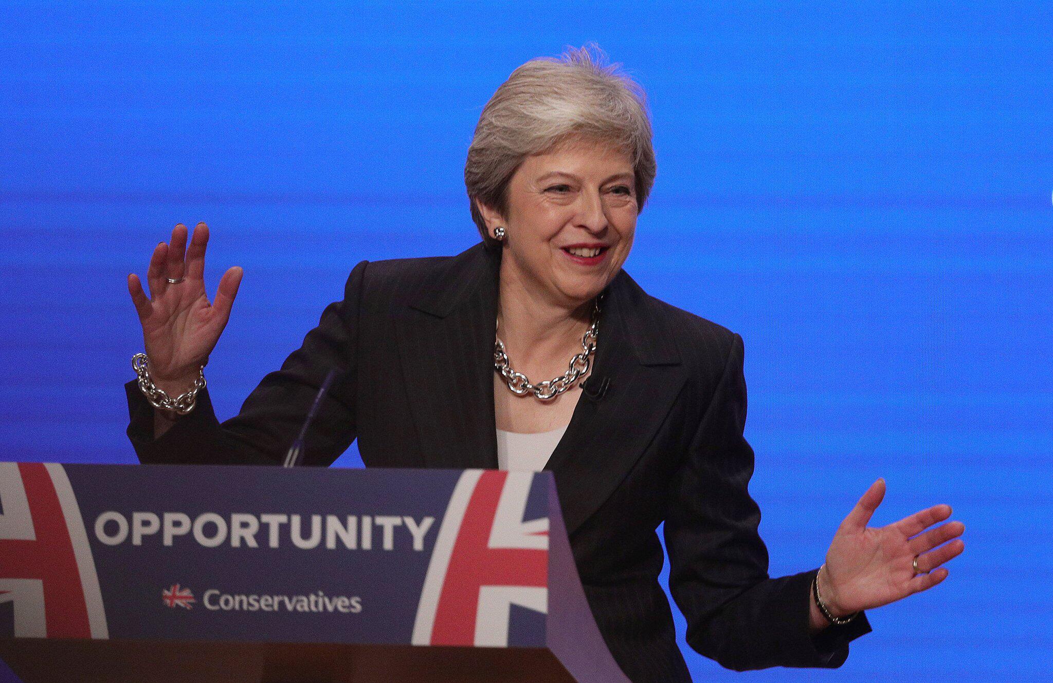 Bild zu Parteitag der Konservativen in Großbritannien