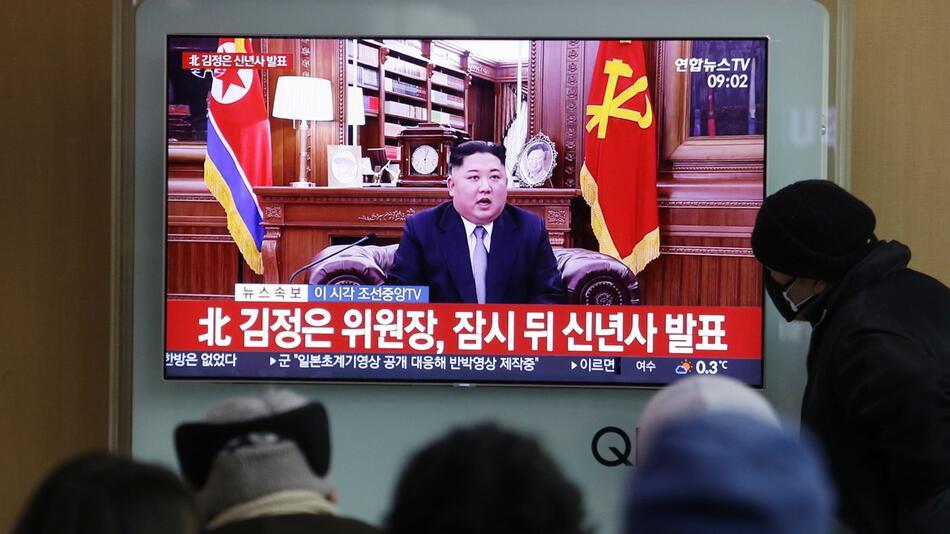 Neujahrsansprache Kim Jong Un